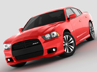 dodge charger srt8 2012 obj