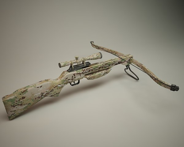 3ds max cross bow
