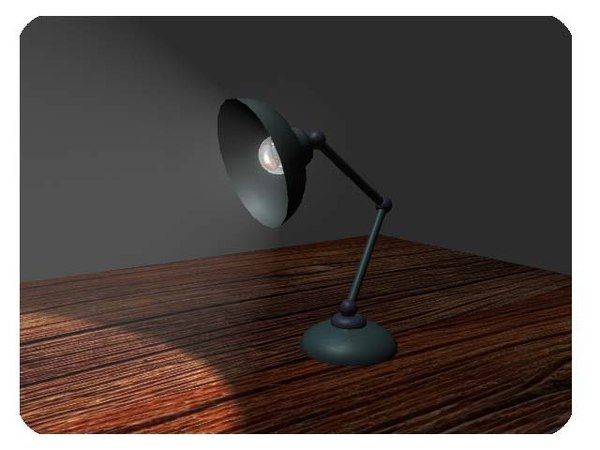 free lamp rig 3d model
