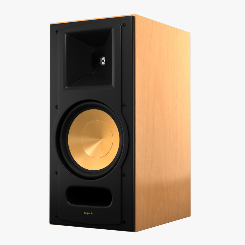 klipsch reference rb81 3d model