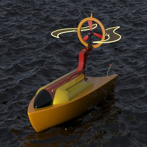 free max mode futuristic boat