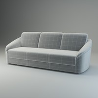 basic sofa donata 3d model