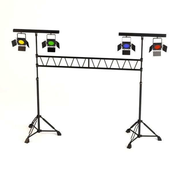 stage light 3d model