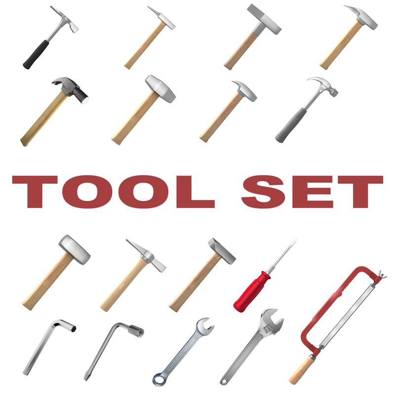3d Model Set Tools