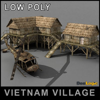 Vietnam Village Scene