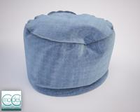 round pouf 07