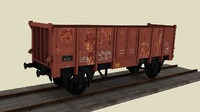 train wagon obj