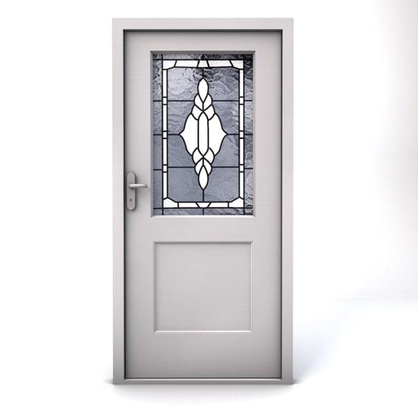 3d model terma entrance door