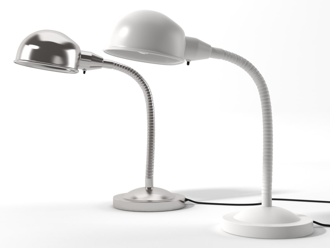 realistic lamp ikea format 3d 3ds