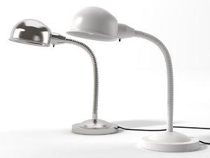 realistic lamp ikea format 3d 3ds