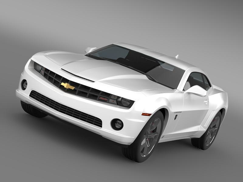 3ds chevrolet camaro transformer