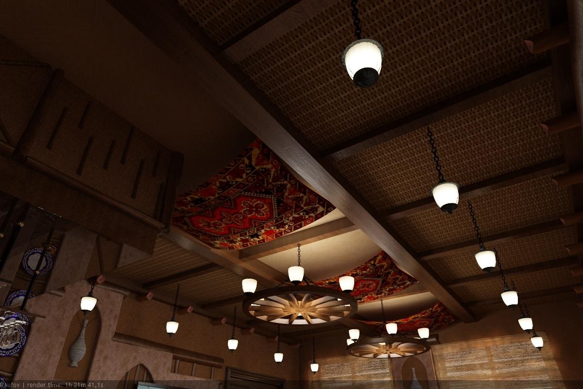3ds max hall interior