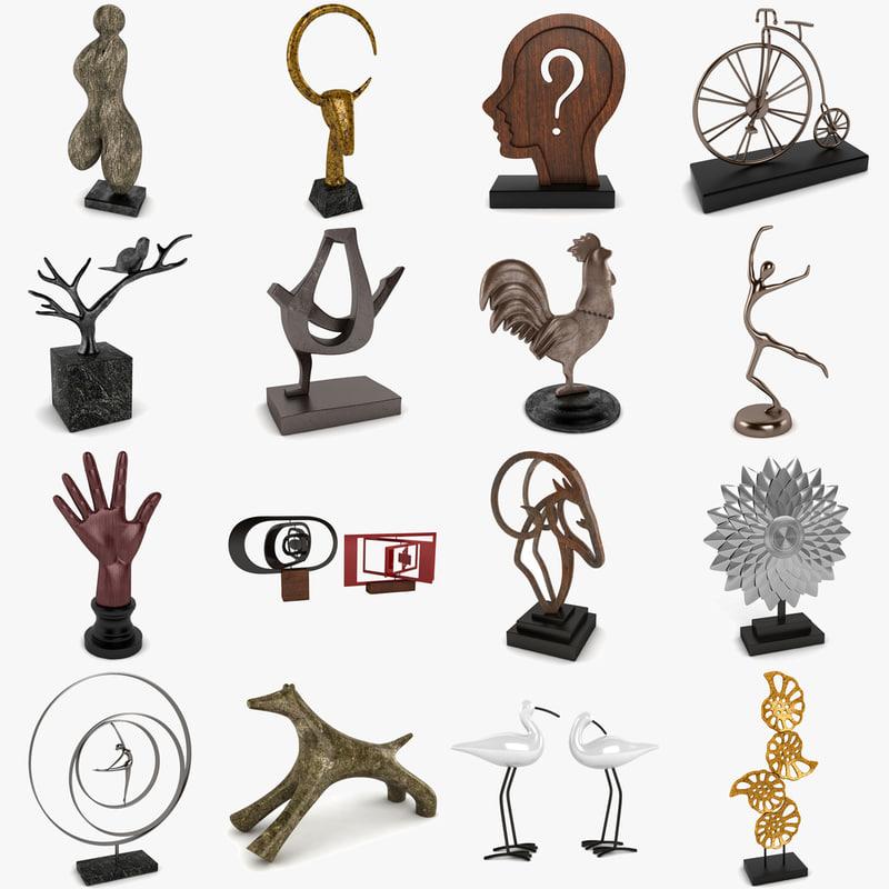 5 sculpture 3ds