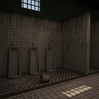 Prison bathroom