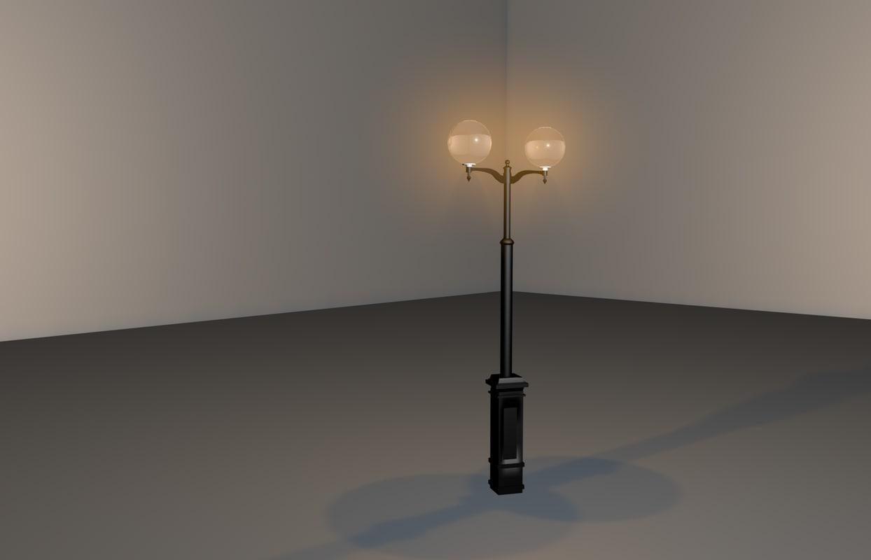 3d model of lantern
