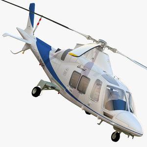 agustawestland grandnew helicopter agusta 3d model