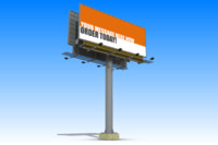 billboard 3d 3ds
