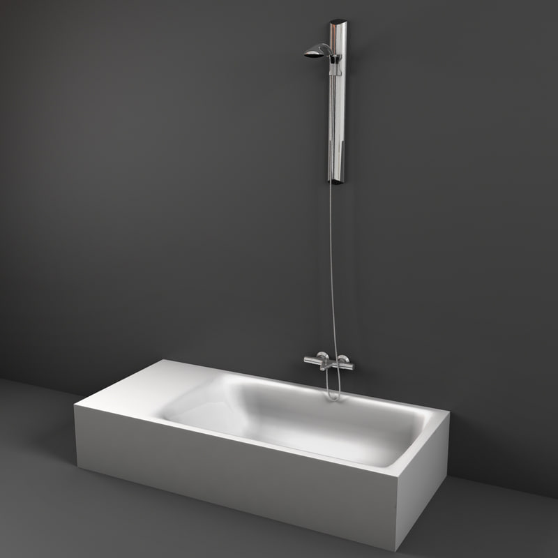 3d model of shower