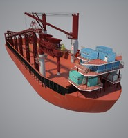 3d barge cargo