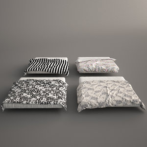3ds max bed covers 2