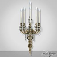 wall candlestick bertolini 2 3d model