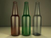 free beer bottle 3d model