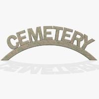3d obj cemetery fg
