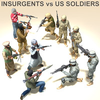 Insurgents vs US Soldiers