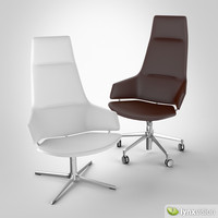 3ds max aston direction executive chair