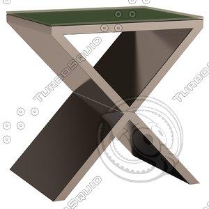 eichholtz table metropole 3d model