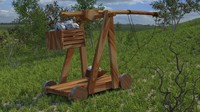 3ds max catapult trebuchet
