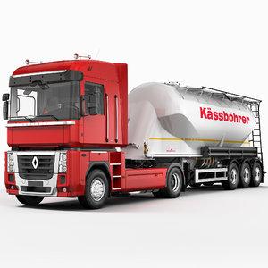 renault magnum cement trailer max