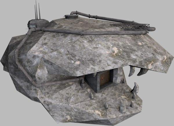3d model hideout mal
