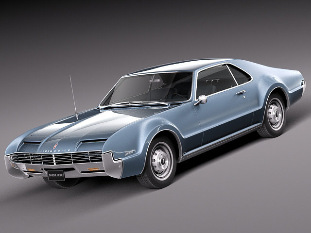 3ds max 1965 1966 car v8