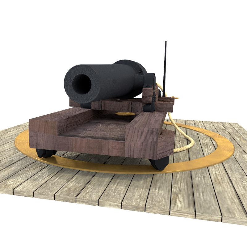 parrott rifle 3d 3ds