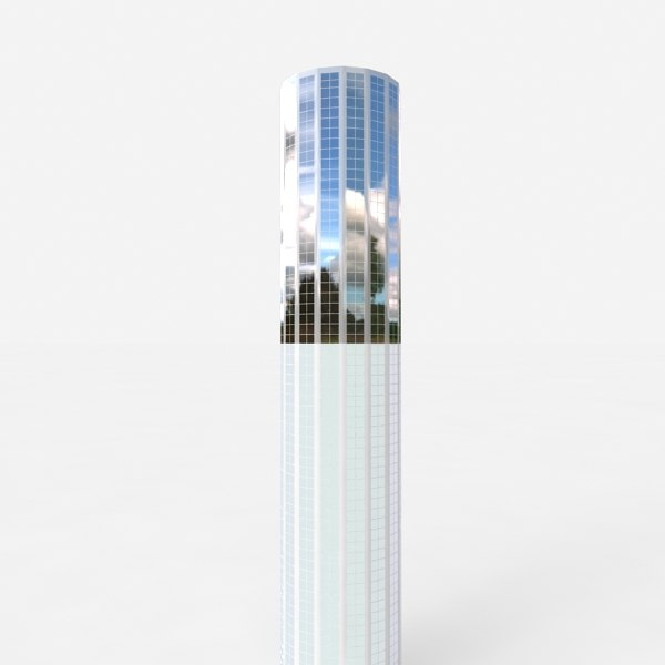 3d model of skyscraper buildings