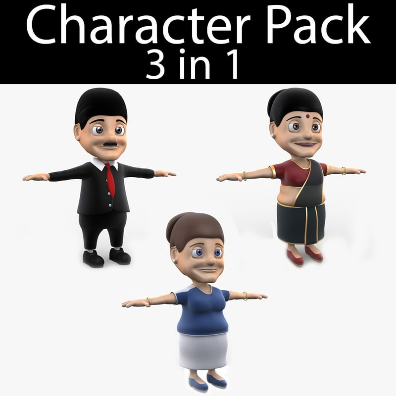 max character pack 07