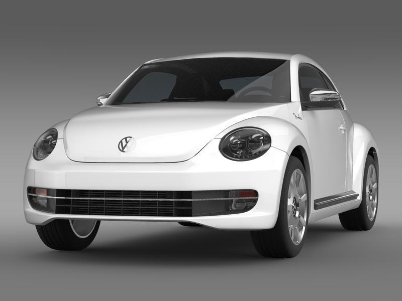 beetle fender edition 2012 3d model