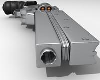 3d model vash gun