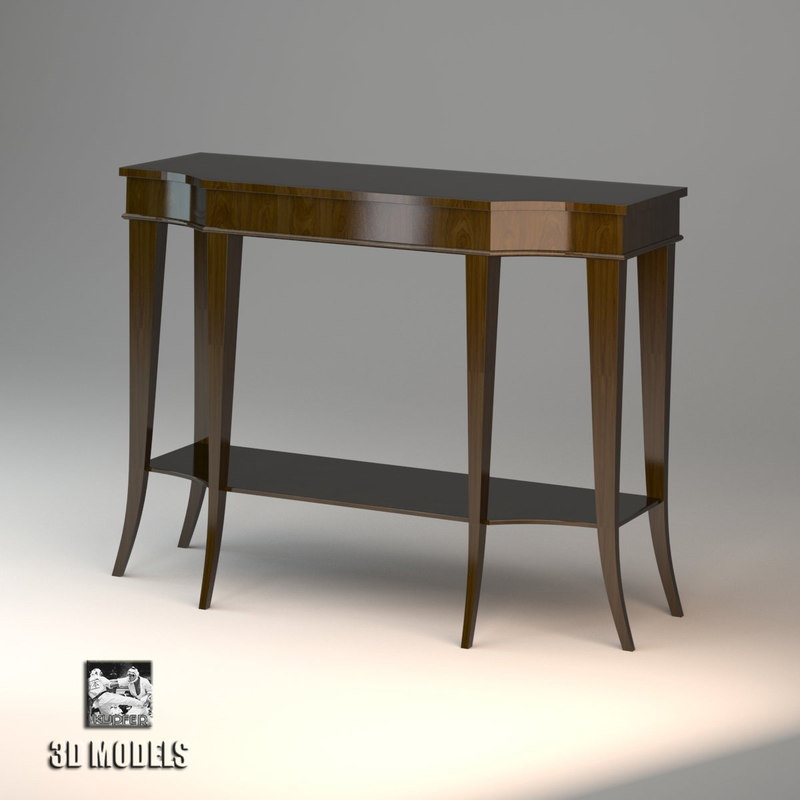 Charming Baker Console Table Max Free