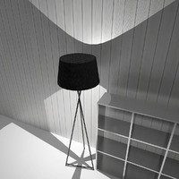 lamp standing 3d max