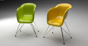 maya modern colorfull chair
