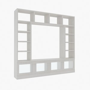 3d closet v-ray model