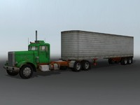 3ds max semi truck 358