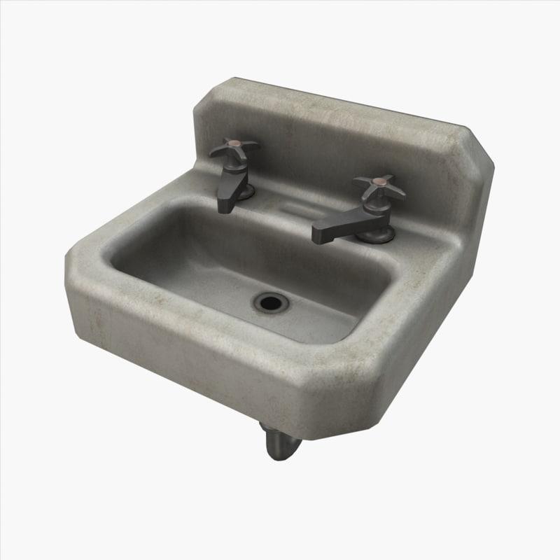 sink ready games 3d model