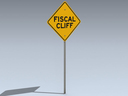 Road Sign (Fiscal Cliff)