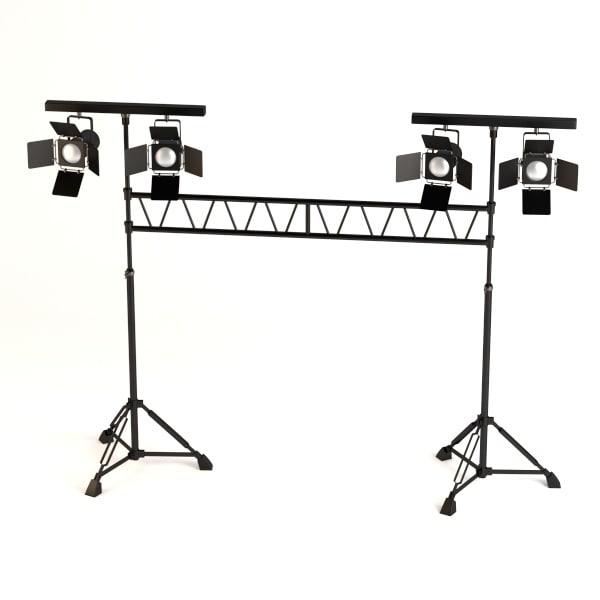 3d model stage light