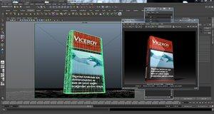 3dsmax viceroy cigarette box