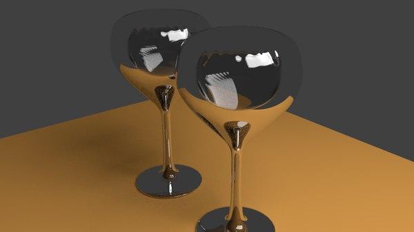 wine glass blend free