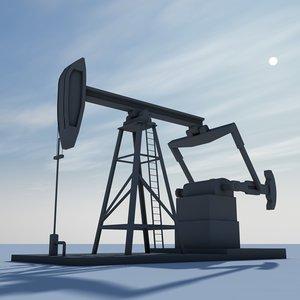 3ds oil pump pumpjack jack